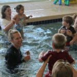 child swimming lessons