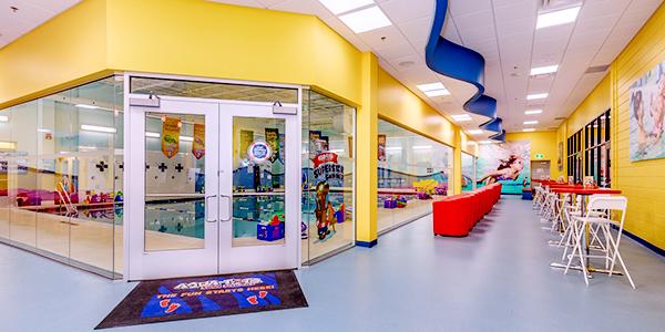 Aqua-tots Swim Schools Burlington indoor pool