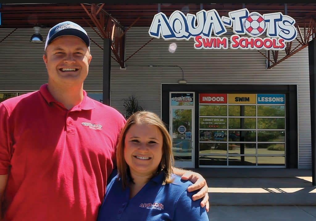 From swim instructors to franchise owners, Aqua-Tots employees' advancement opportunities are endless.